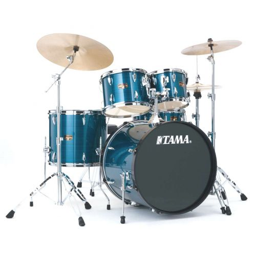 TAMA IP52KH6-HLB - IMPERIALSTAR 22/10/12/16 MIT HARDWARE HAIRLINE BLUE