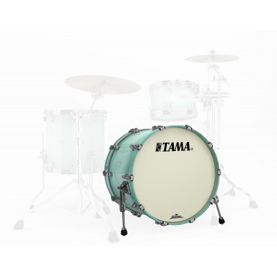 TAMA BGB2218ZBN-LJB - STARCLASSIC BUBINGA 22 X 18 BLACK NICKEL HARDWARE LIGHT JADE BURST