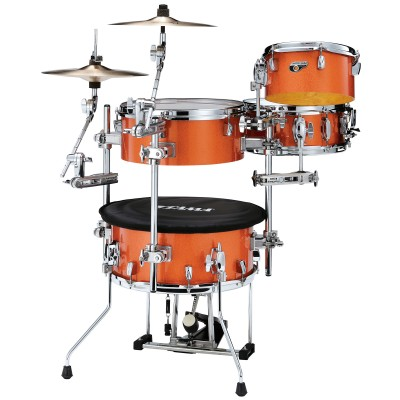 TAMA CJB46C-BOS - COCKTAIL-JAM + MCAX5366 BRIGHT ORANGE SPARKLE