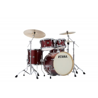 TAMA CK50RS-DRP - SUPERSTAR CLASSIC MAPLE (UNICOLOR WRAP) 20/10/12/14/14X5 DARK RED SPARKLE