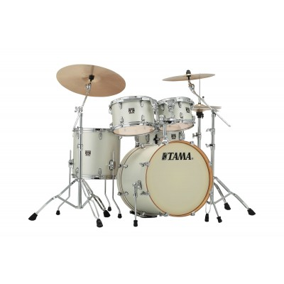 TAMA CL50RS-SAP - SUPERSTAR CLASSIC MAPLE 20/10/12/14/14X5 SATIN ARCTIC PEARL