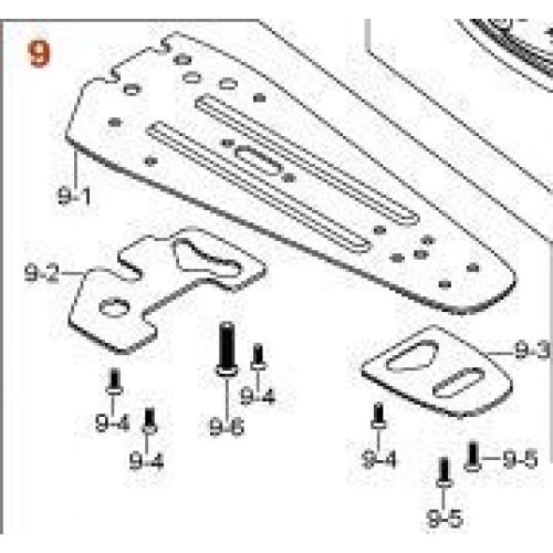 TAMA HP99N - STABILIZER PLATE COMPATIBLE HP900RSW