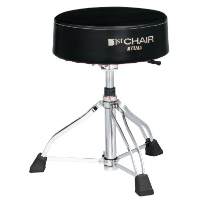 "TAMA HT850BC DRUM THRONE 1ST CHAIR ROUND RIDER XL HYDRAULIX ""CLOTH TOP"""