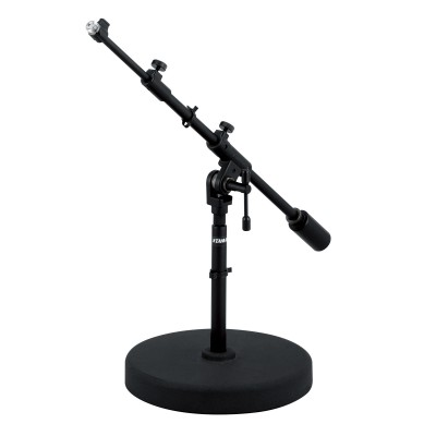 TAMA STUDIO LOW BOOM MICROPHONE STAND ROUND BASE MS736RELBK