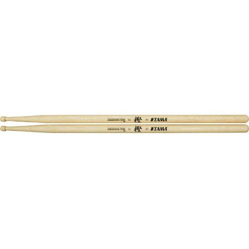 TAMA 8A - TRADITIONAL SERIES - DRUMSTICK JAPANESE OAK - 14MM - OLIVE PLATE BOUT ROND