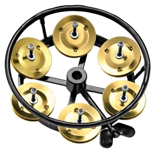 MEINL PROFESSIONAL SERIES HIHAT TAMBOURINE, SOLID BRASS