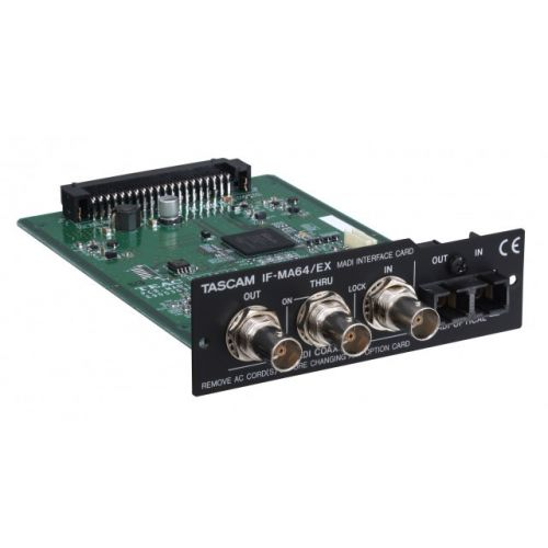 TASCAM IF-MA64/EX - MADI CARD FOR DA-6400/DP
