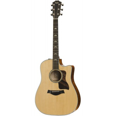 TAYLOR GUITARS 610CE DREADNOUGHT CUTAWAY NATURAL
