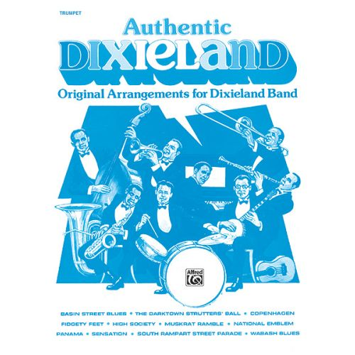 ALFRED PUBLISHING AUTHENTIC DIXIELAND - TRUMPET