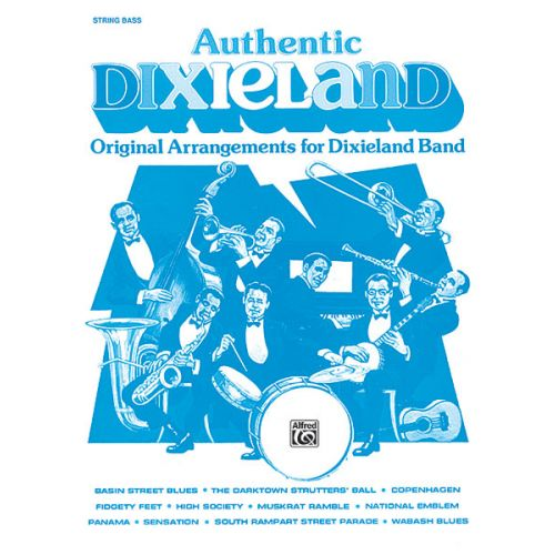 ALFRED PUBLISHING AUTHENTIC DIXIELAND - DOUBLE BASS