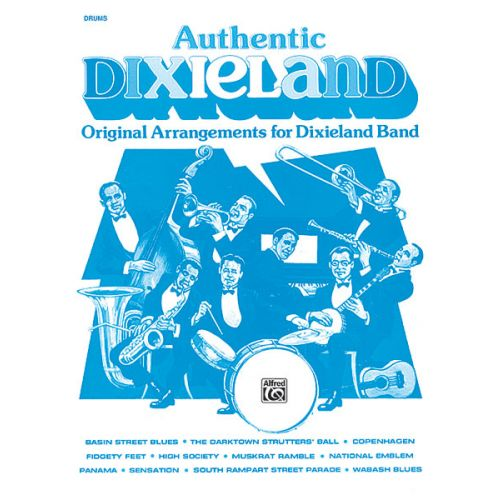 ALFRED PUBLISHING AUTHENTIC DIXIELAND - DRUMS
