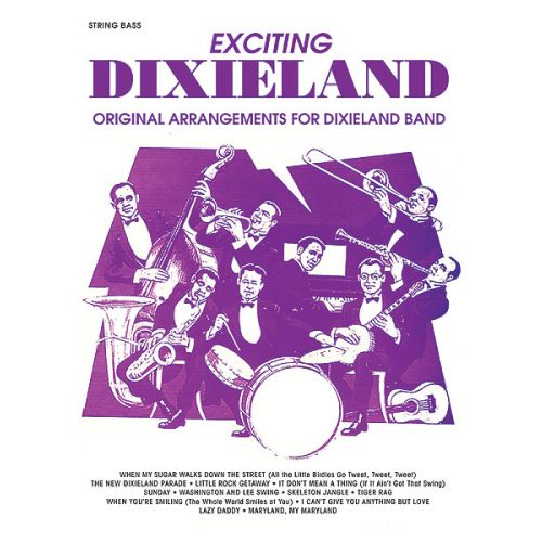 ALFRED PUBLISHING EXCITING DIXIELAND - DOUBLE BASS