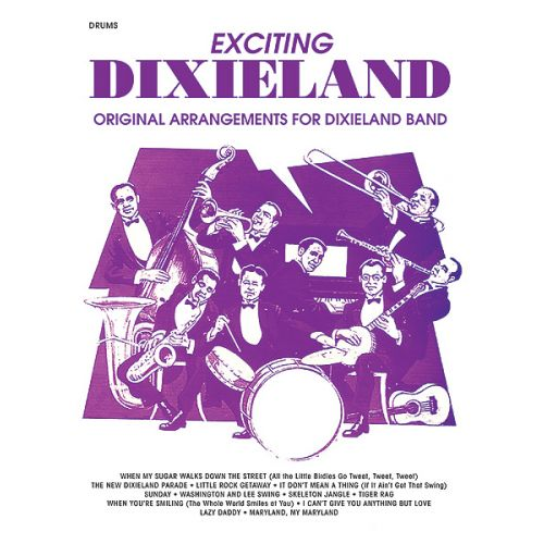 ALFRED PUBLISHING EXCITING DIXIELAND - DRUMS