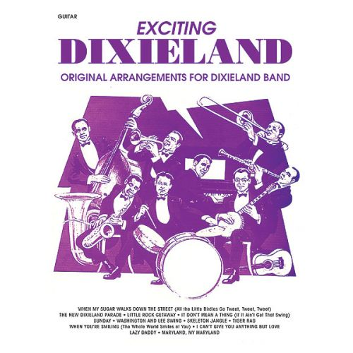 ALFRED PUBLISHING EXCITING DIXIELAND - GUITAR