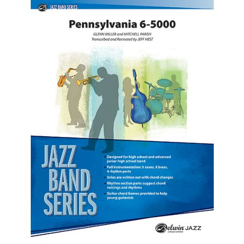 ALFRED PUBLISHING HEST JEFF - PENNSYLVANIA 6-5000 - JAZZ BAND