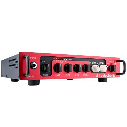 TC ELECTRONIC 550 W. BASSVERSTAERKER MIT 2 TONEPRINT SLOTS