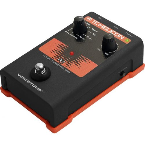 TC HELICON VOICETONE SINGLE R1 - REVERB