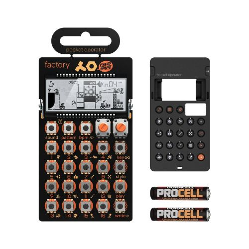 TEENAGE ENGINEERING PO-16 + CASE + BATTERIES