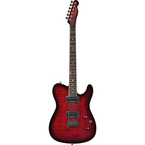 FENDER TELECASTER SPECIAL EDITION CUSTOM FMT HH BLACK CHERRY BURST