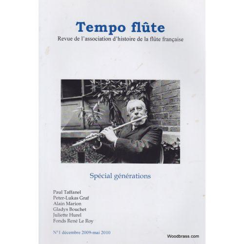 TEMPO FLûTE REVUE - TEMPO FLUTE N° 1