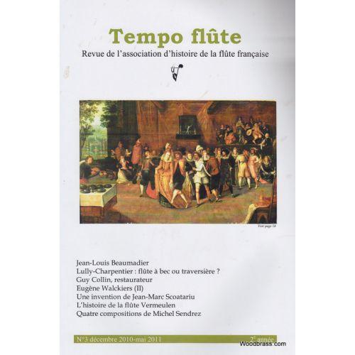 TEMPO FLûTE REVUE - TEMPO FLUTE N° 3