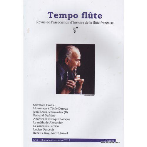 TEMPO FLûTE REVUE - TEMPO FLUTE N° 4