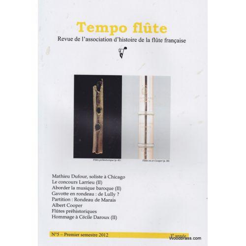 TEMPO FLûTE REVUE - TEMPO FLUTE N° 5