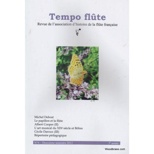TEMPO FLûTE REVUE - TEMPO FLUTE N° 6