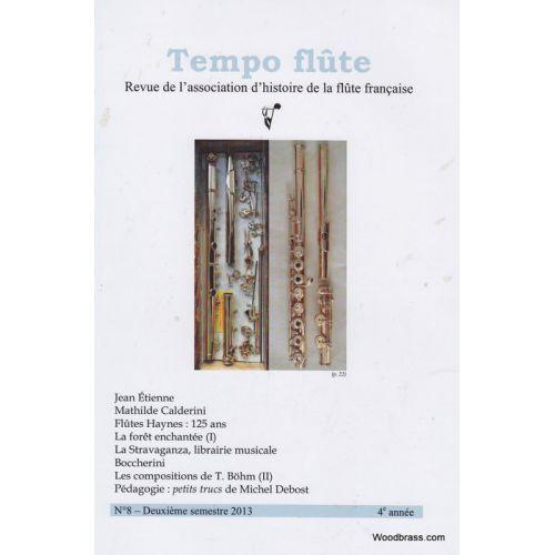 TEMPO FLûTE REVUE - TEMPO FLUTE N° 8