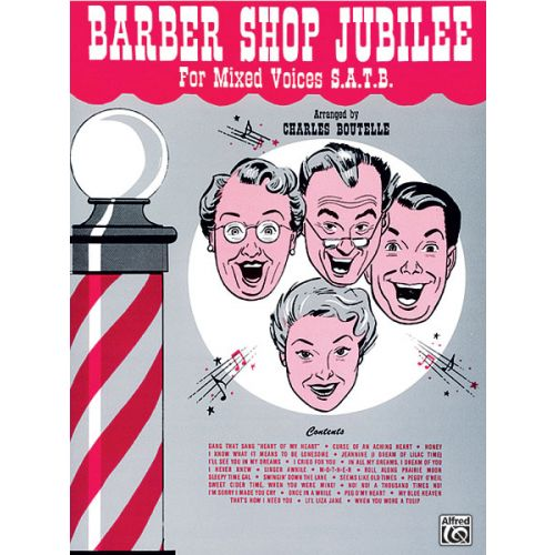 ALFRED PUBLISHING BARBER SHOP JUBILEE - MIXED VOICES