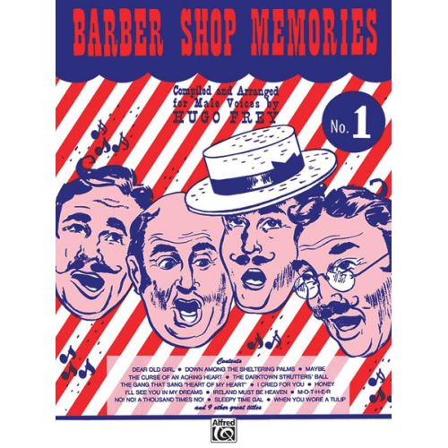 ALFRED PUBLISHING BARBER SHOP MEMORIES 1 - LOWER VOICES