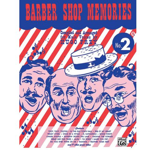 ALFRED PUBLISHING BARBER SHOP MEMORIES 2 - LOWER VOICES