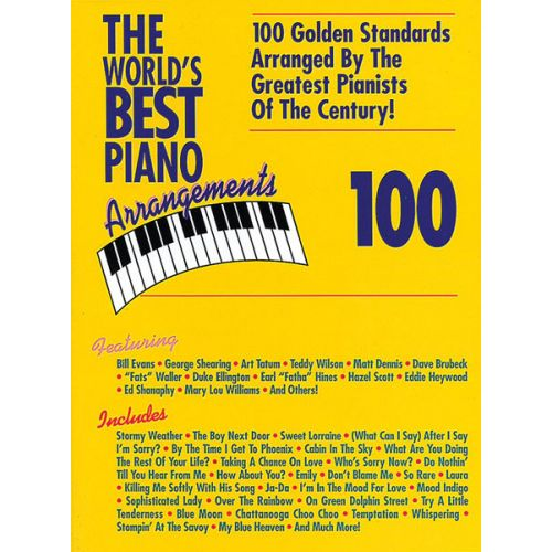 ALFRED PUBLISHING WORLD'S BEST PIANO ARRANGEMENTS - PIANO