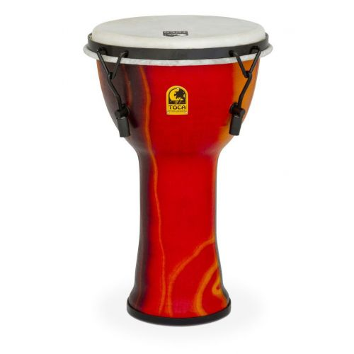 TOCA DJEMBE FREESTYLE MECHANICALTUNED FIESTA RED 12'' SFDMX-12F