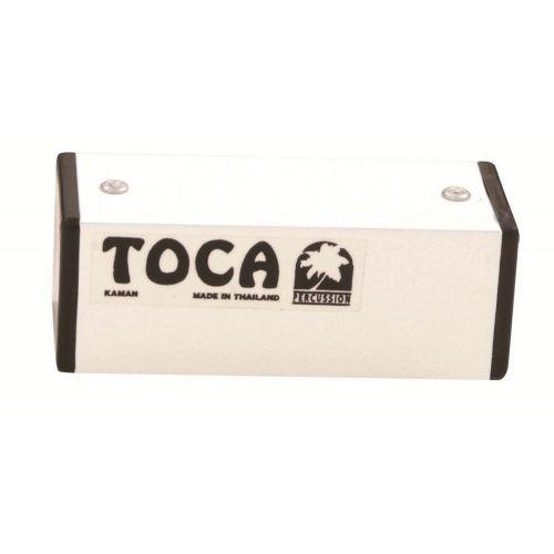 TOCA SQUARE METAL SHAKER 4'' WHITE T-2204