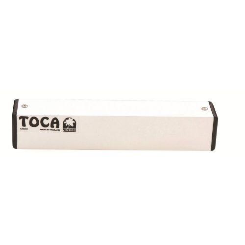 TOCA SQUARE METAL SHAKER 8'' WHITE T-2208