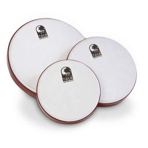 TOCA FRAME DRUM 3-PACK 8''-10''-12'' WITH BAG TFD-3PK