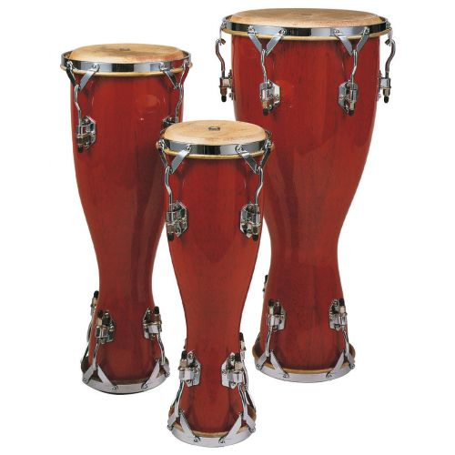 TOCA WOOD BATA DRUM- LARGE BRIGHT RED FINISH 3310