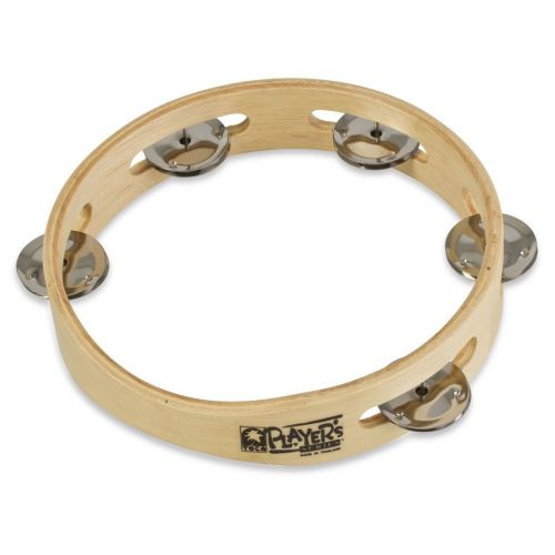 TOCA SINGLE JINGLE ROW TAMBOURINE WOOD 7 1/2'' NO HEAD T1075