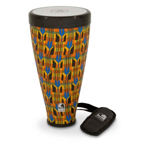 TOCA FLEX DRUM FLEX DRUM W/STRAP KENTE CLOTH