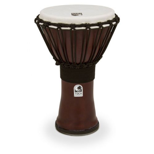 TOCA DJEMBE FREESTYLE II 9'' RED SYNTHETIC HEAD TF2DJ-9R