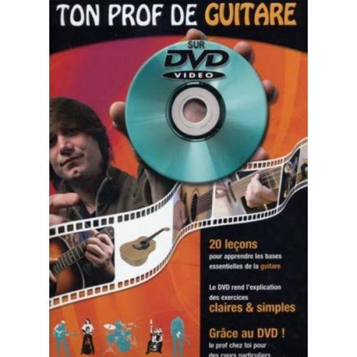 COUP DE POUCE ROUX JULIEN - TON PROF DE GUITARE ACOUSTIQUE + DVD