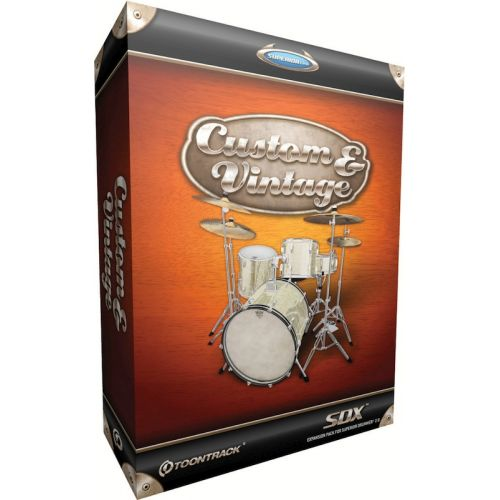 TOONTRACK CUSTOM AND VINTAGE FOR SUPERIOR DRUMMER 2.0