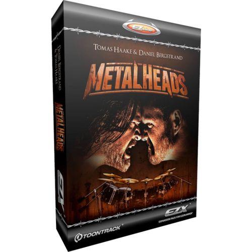 TOONTRACK METAL HEADS FOR EZ DRUMMER