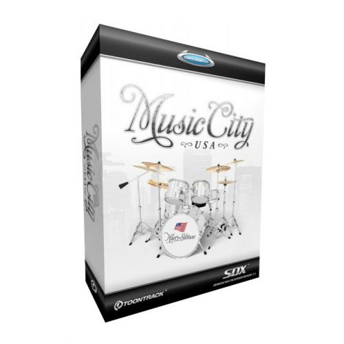TOONTRACK MUSIC CITY USA FOR SUPERIOR DRUMMER 2.0