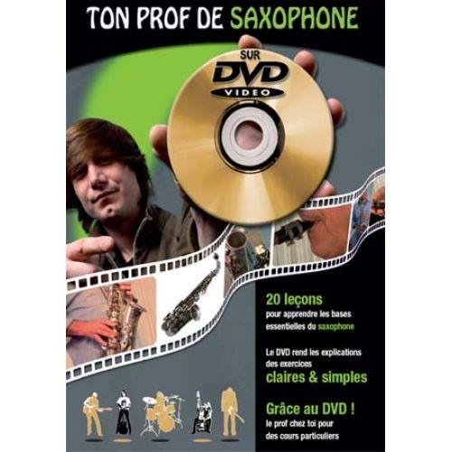 COUP DE POUCE ROUX J. / DOLETINA J.C. - TON PROF DE SAXOPHONE + DVD