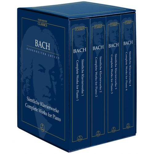 BARENREITER BACH J.S. - COMPLETE PIANO SOLO WORKS