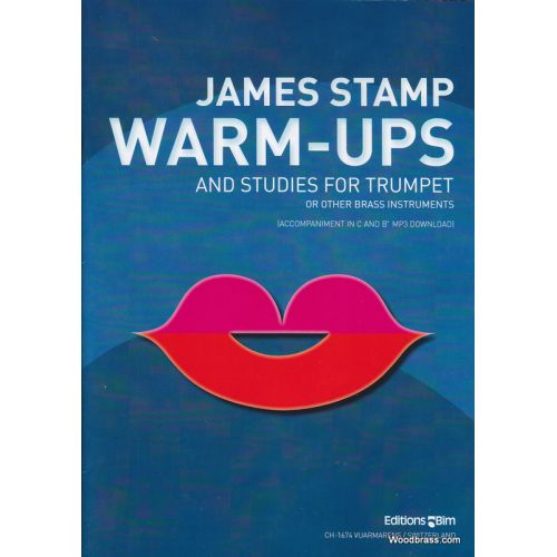BIM STAMP JAMES - WARM-UPS + STUDIES - TROMPETTE