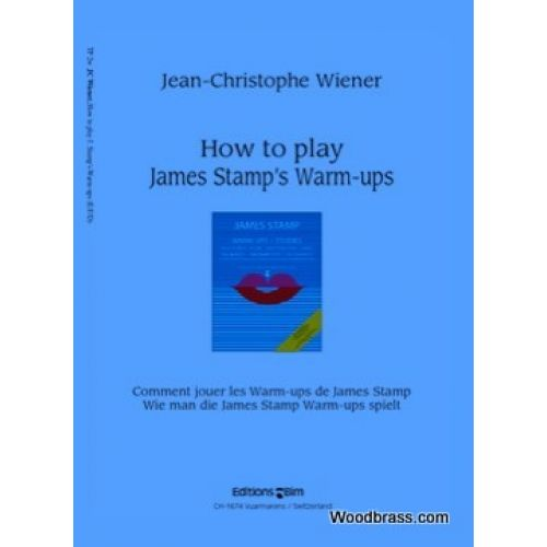 BIM WIENER JEAN-CHRISTOPHE - HOW TO PLAY JAMES STAMP'S WARM-UPS