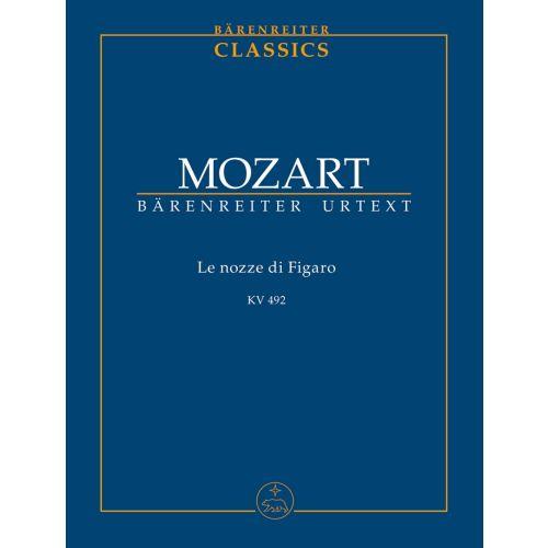 BARENREITER MOZART W. A. - LE NOZZE DI FIGARO - CONDUCTEUR DE POCHE